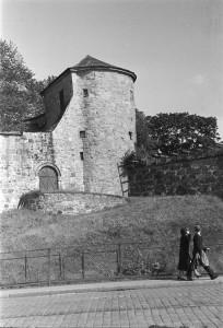 Dette tårnet ble bygget av Christian Munk. Oslo museum.