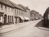 I Storgata 3 førte Jørgen Young et gjestfritt hus. (Foto: Theodor Kielland-Torkildsen, 1896, Oslo museum)