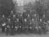 Brannvesenets musikkorps i 1900. Dirigent Ole Olsen foran i midten. (Foto: N. Egeberg. Oslo museum)