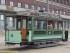 Denne trikken er bygget i 1899 og er fargelagt i flere omganger siden. (Foto: Sporveismuseet)