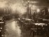 Bazarhallen i 1895. (Ukjent fotograf, Oslo museum)