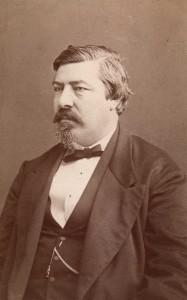 Julius Fritzner i 1880. (Foto: Claus Peder Knudsen, Oslo museum)
