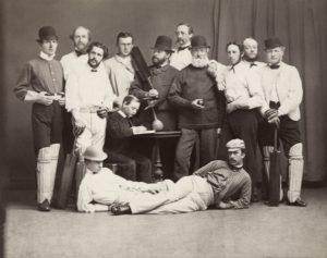 Christiania Cricket-Klub. (Foto: Wilhelm Cappelen, Oslo museum)