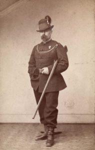 Nils Gladelig. (Foto Frederik Klem, ca 1860-65. Oslo museum)