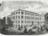 Hotel de Scandinavie tegnet etter nyåpningen i 1859. Illustreret nyhetsblad.