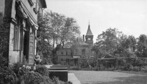 Munkvold i 1936, sett fra Bervens løkke. (Foto: Fritz Holland, Oslo museum)