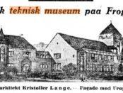 Aftenpostens illustrasjon året etter, i oktober 1917.