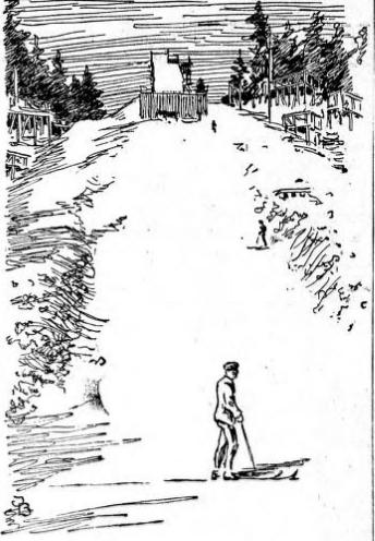 holmenkollen 1917 tegning