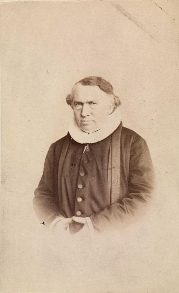Sven Brun i 1865. Foto: Divert Huun, Oslo museum