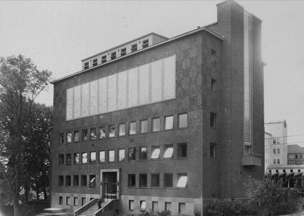 Bakteriologisk institutt, samme adresse ca 1950. Foto: Ukjent, Oslo museum.